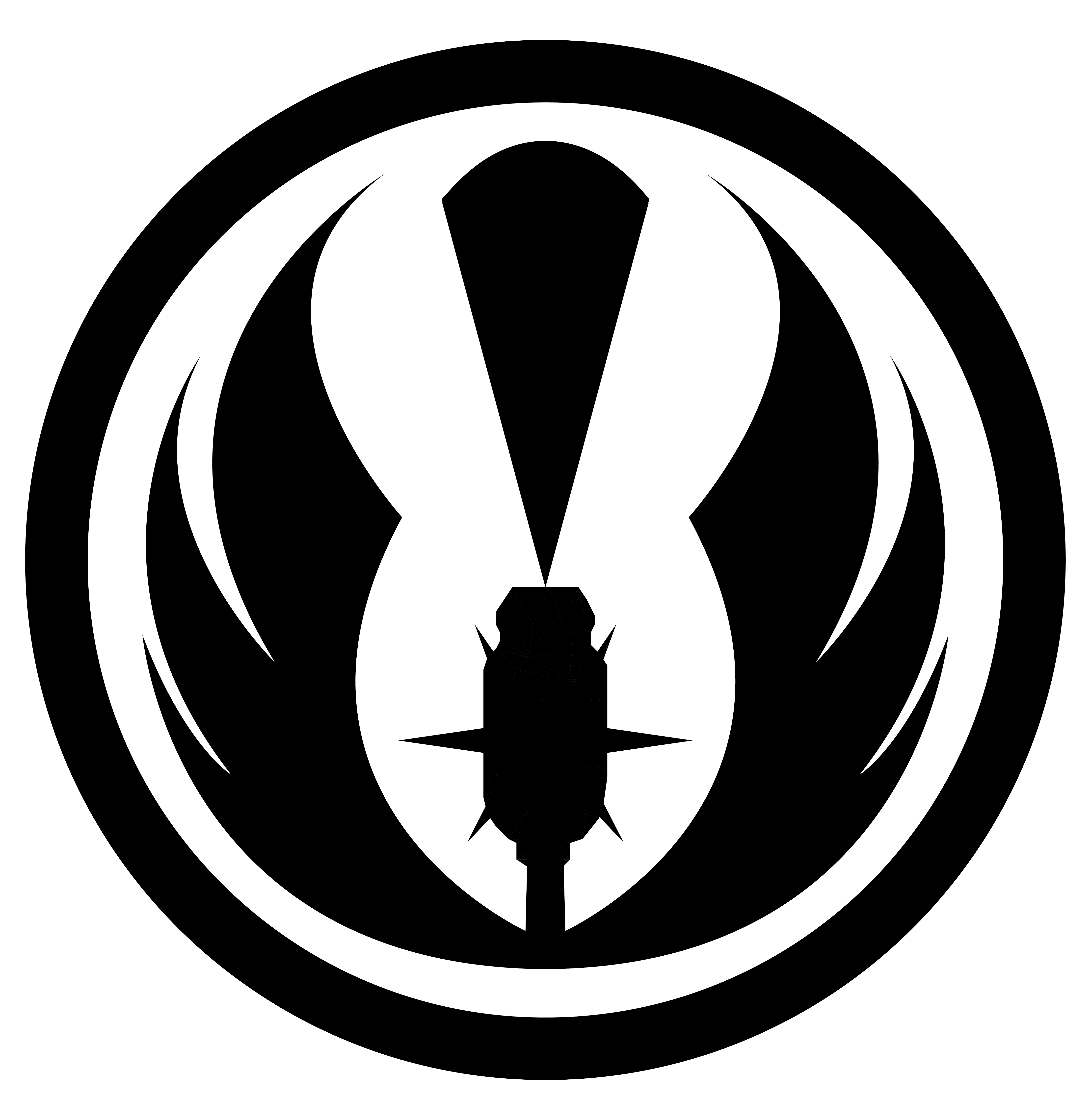Emblem of the Knights of the POCUS Jedi Order